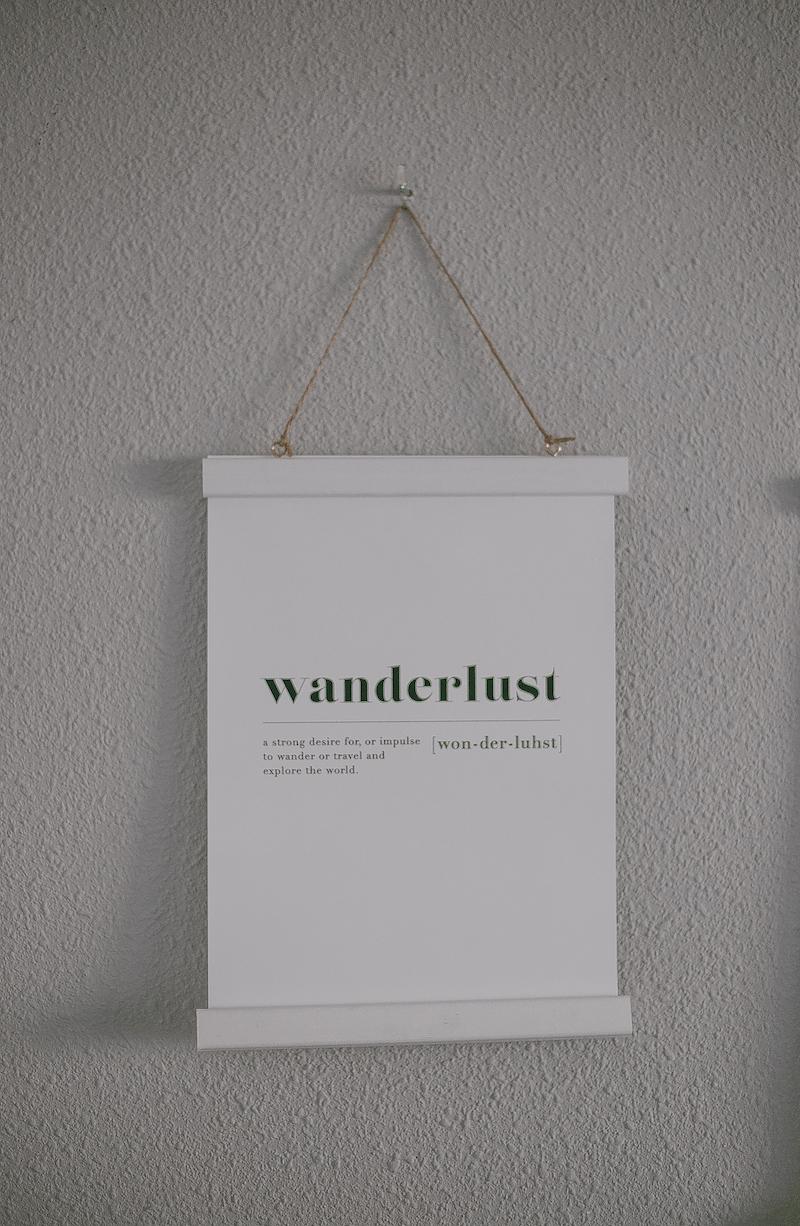 Desenio_Lámina_Wanderlust