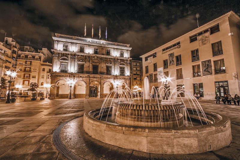Castellon de la plana_ plaza mayor_ayuntamiento