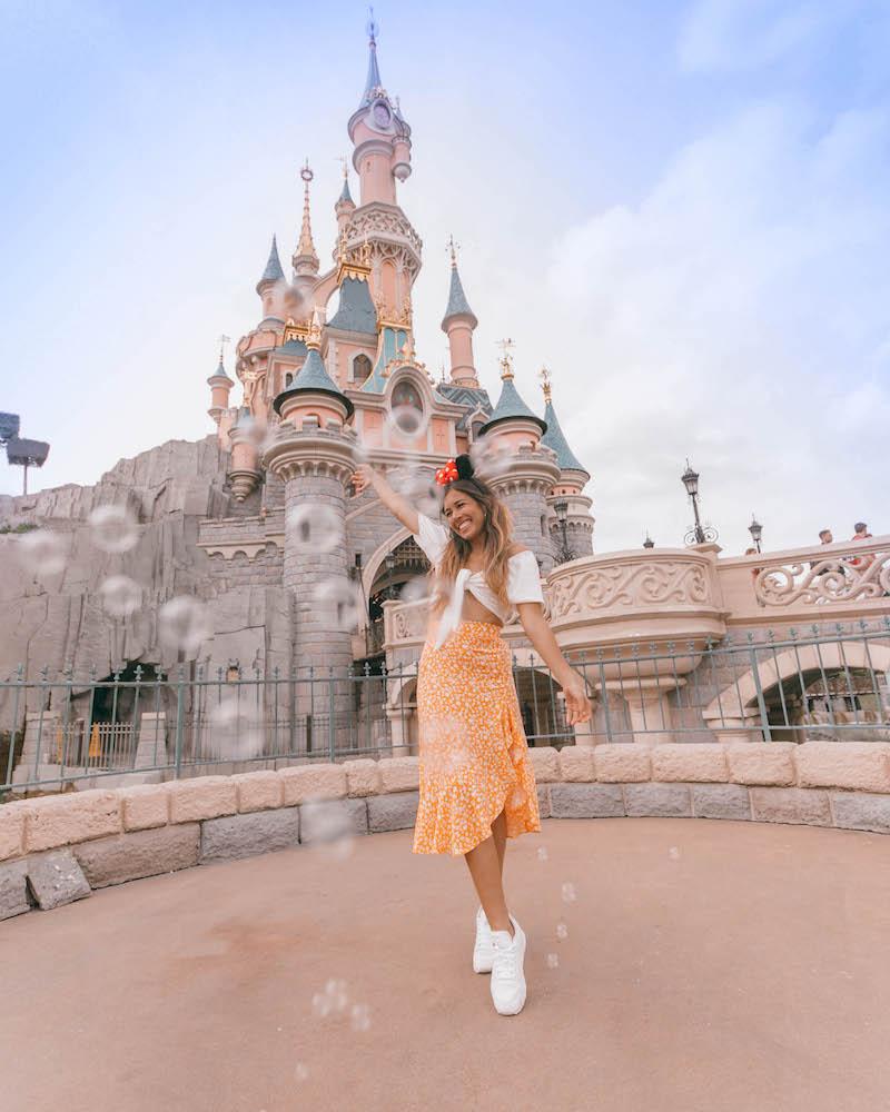 Instagramers en Disneyland Paris